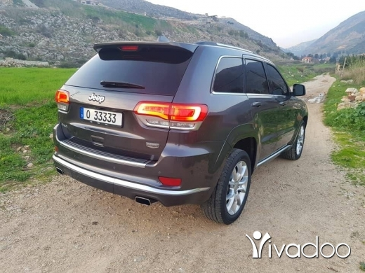Jeep in Beirut City - Grand cherokee SUMMIT
