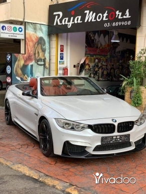 BMW in Beirut City - BMW M4 Convertible 2015