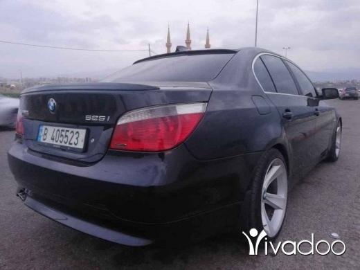 BMW in Tripoli - E60 2007 45 مليون