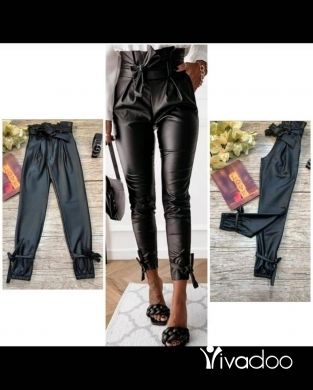 Clothes, Footwear & Accessories in Beirut City - Leather pants with fleece inside