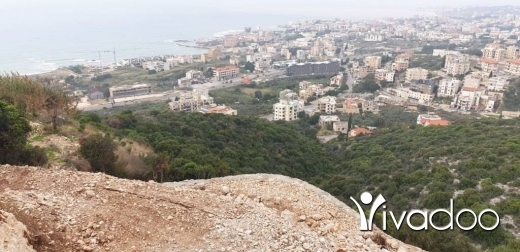 Land in Kfar Abida - L07546 - Land for Sale in the Town of Kfar Aabida with an amazing Sea View