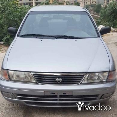 Nissan in Tripoli - نيسان صني انقاد موديل 2000