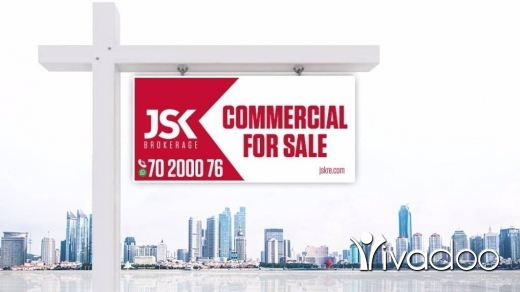 Office Space in Jal el-Dib - L07444 - Showroom for Sale in Jal El Dib Sea Side
