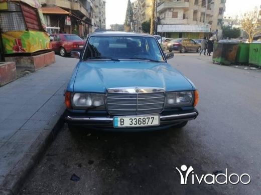 Mercedes-Benz in Tripoli - 200موديل 80