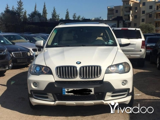 BMW in Zgharta - BMW X5 mod 2007 full optionV8 7 ma23aid masdar almani