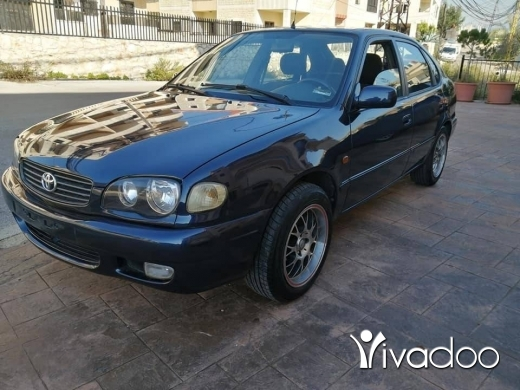 Toyota in Beirut City - Toyota Corolla 2000 (manual transmission), 6eme, in excellent condition