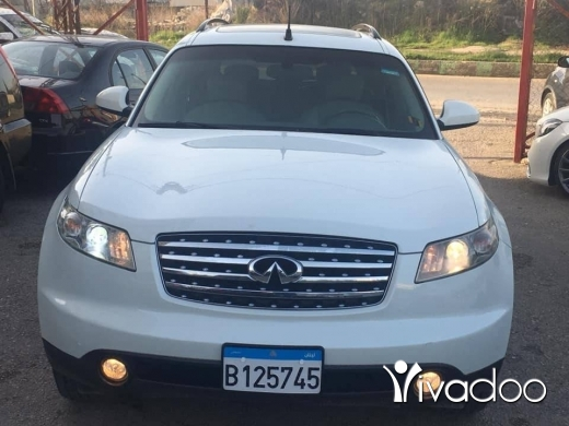 Nissan in Zgharta - Nissan FX 2003 full option 4 well boyit chirki