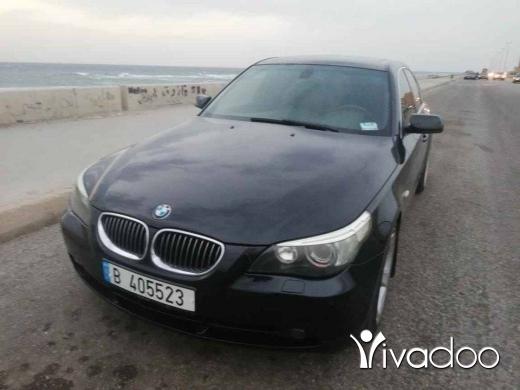 BMW in Tripoli - E60 2007 45مليون