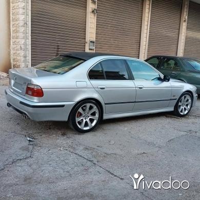 BMW in Beirut City - Bmw E39 540i mod 99 sayyara kteer helwe look m5 kella eddem u wara info 81520634.