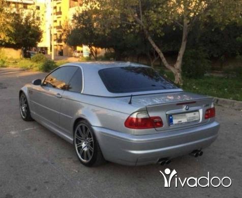 بي ام دبليو في مدينة بيروت - BMW E46 M3 2001 سيارة جديدة بعدا و ما ناقصا شي 71408780 WhatsApp or Call Only Please