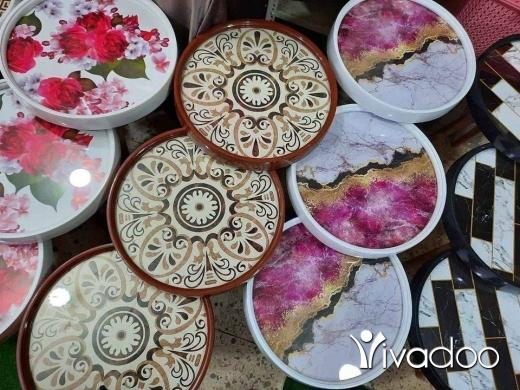 Maison & Jardin dans Bourj el Barajneh - طقم طاولات مربع و مدور 260.000 70060274