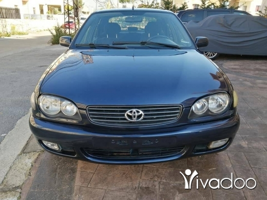 Toyota in Beirut City - Toyota Corolla 2000 (manual transmission 6-eme) in excellent condition