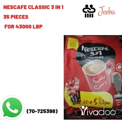 Food & Drink in Beirut City - Nescafe classic 3 in 1