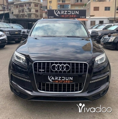 Audi in Beirut City - Audi Q7 2013 S Line