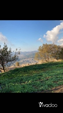 Land in Zaarour - L07352 - Wonderful land For Sale in Zaarour With A Panoramic View