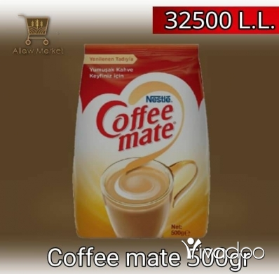 Food & Drink in Beirut City - Coffee mate and nescafé