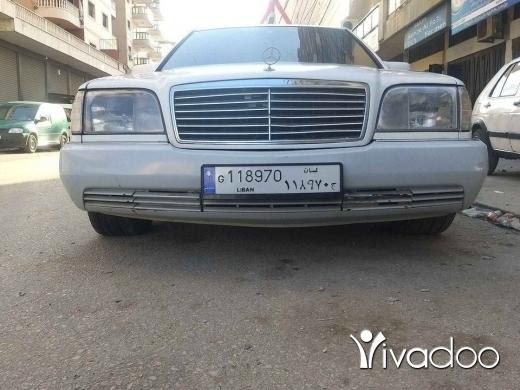 Mercedes-Benz in Tripoli - جبل محسن طرابلس شارع رابيه
