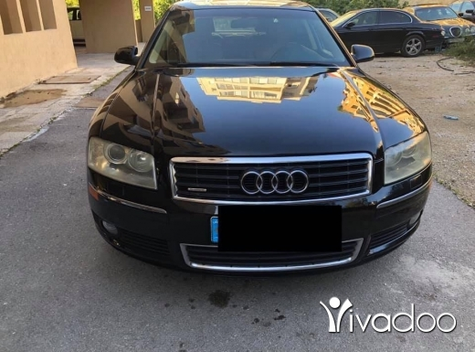 Audi in Beirut City - Audi A8. L. Moumayaze full options quatro mint condition
