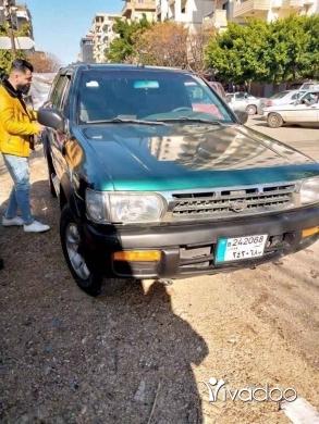 Nissan in Tripoli - باثفندر ٩٧ انقاض