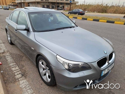 BMW in Tripoli - E60 2004 42 مليون
