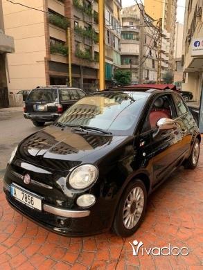 Fiat in Beirut City - Fiat 500c 2011