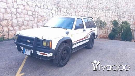 Chevrolet in Zgharta - Chevrolet blazer 4x4