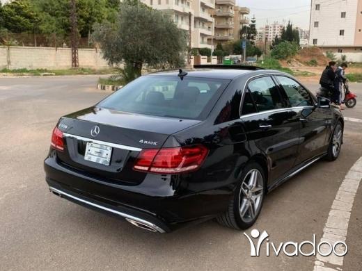 Mercedes-Benz in Tripoli - Mercedes Benz E550 2014