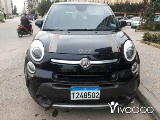Fiat in Tripoli - Fiat 500l