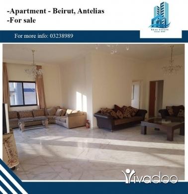 Apartments in Beirut City - شقة مفروشة للبيع