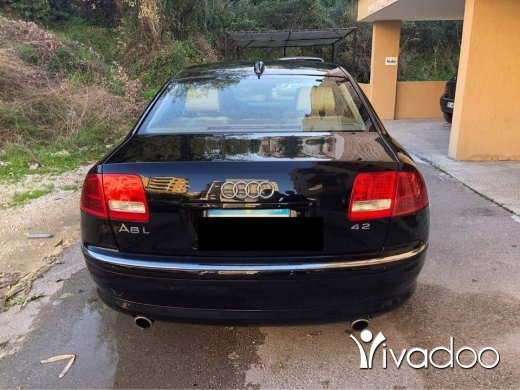 Audi in Beirut City - Audi A8 L 2004. Cherke full options