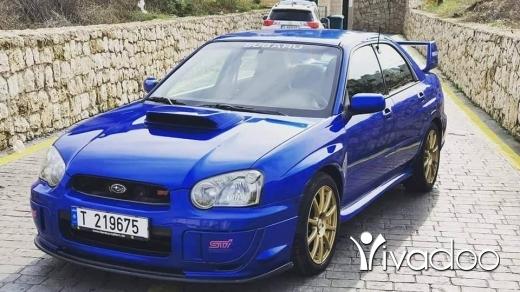 Subaru in Ras-Meska - subaru impreza STI 2004