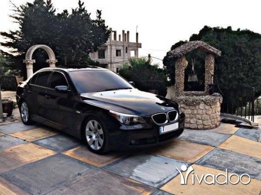 BMW in Tripoli - bmw e60 530 2007