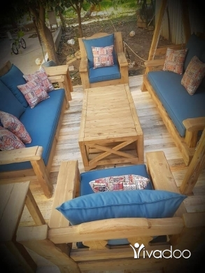 Home & Garden in Tripoli - ديكور خشب-اثاث-غرف جلوس مراجيح للمنازل