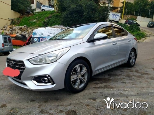 Hyundai in Beirut City - Hyundai accent mod 2019 masdar shirki 1 owner 28000km full options