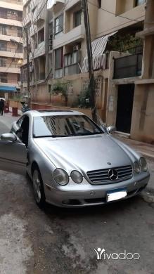 Mercedes-Benz in Beirut City - For sale mercedes CL500 2002 super clean