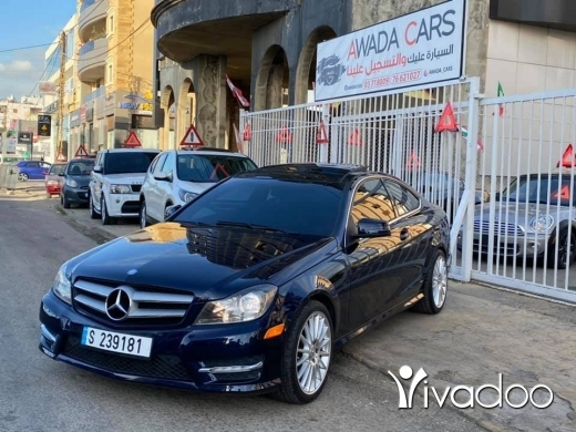 Mercedes-Benz in Beirut City - Mercedes C250 2012