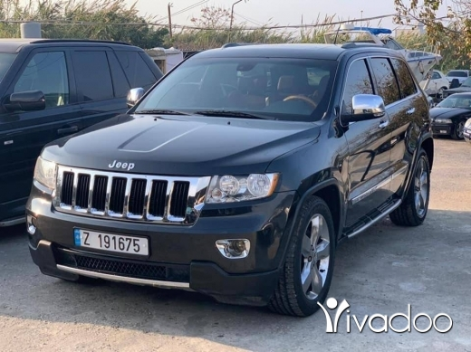 Jeep in Tripoli - Cherokee 2011 overland v8