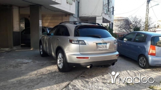 Infiniti in Beirut City - Fx35 (technology) model 2004 in excellent condition