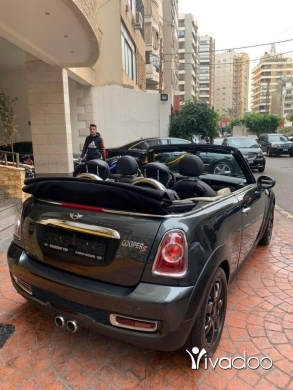 Mini in Beirut City - Mini Cooper S Convertible 2011