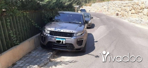 Rover in Beirut City - Range Rover Evoque. Model 2012 Look 2018 Grey with black interior original paint Full options with P