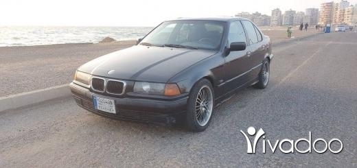 BMW in Tripoli - bmw boy e36 323
