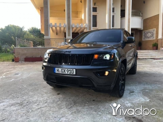 Jeep in Beirut City - Jeep Grand Cherokee