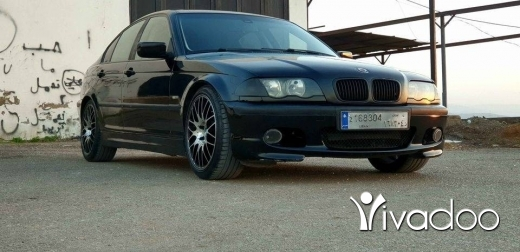 BMW in Akkar el-Atika - BMW 323 LOOK M