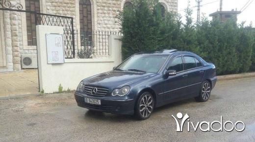 Mercedes-Benz in Tripoli - Mercedes C 320 / 2001