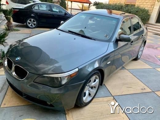 BMW in Tripoli - e60 525i 2006