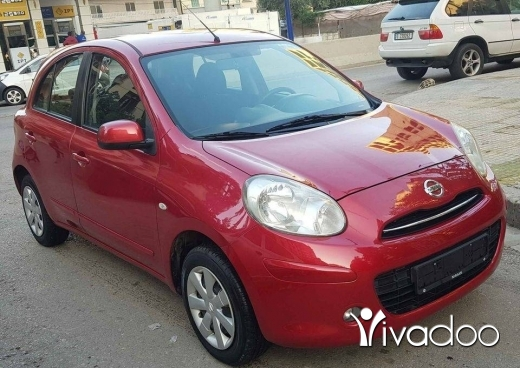 Nissan in Beirut City - Nissan micra 1.5 model 2014