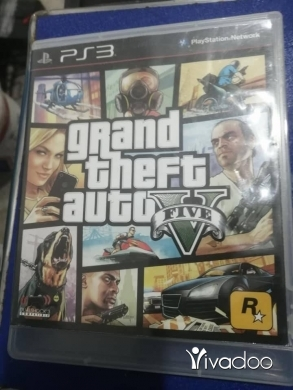 Music, Films, Books & Games in Bourj el Barajneh - GTA 5 PS3 LIKE NEW PRICE 100 ALF