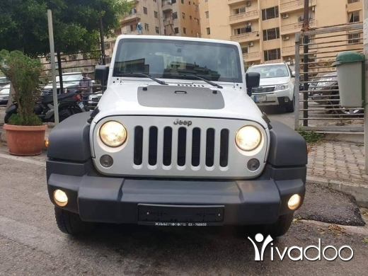 Jeep in Beirut City - wrangler