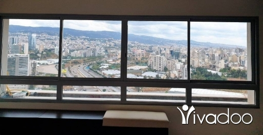 Apartments in Achrafieh - L07415 Furnished Apartment with Open View for Sale in Achrafieh via Banker's Check