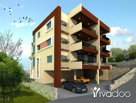 Apartments in Hboub - L02258 - Brand New Apartment For Sale In Hboub 3 Bedrooms